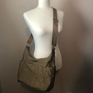 Baggallini Crossbody Travel Bag w/ Luggage Sleeve